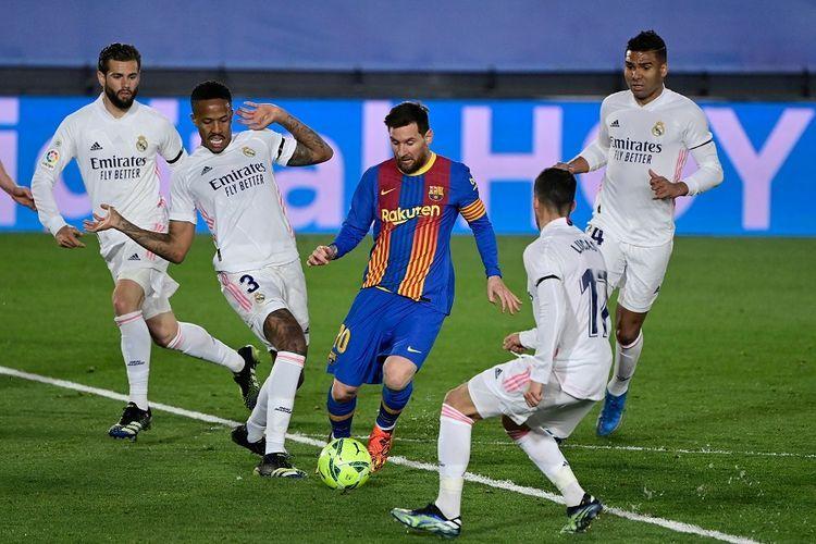 Sumber foto: AFP/Javier Soriano via Kompas.com