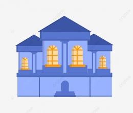 Rumah Biru (pngtree.com)