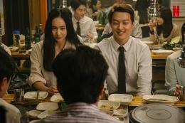 Jang Hyeok (Jang Ki Yong) dan Bo Yeong (Krystal Jung) di film