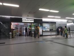 Dokumentasi pribadi /Begitu sampai stasiun MRT di bawah tanah, tidak ada