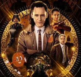 Loki kembali beraksi (sumber gambar: Disney/IMDb)