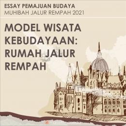 Model Wisata Kebudayaan: Rumah Jalur Rempah, olahan pribadi