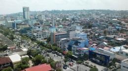 Kota Balikpapan dari ketinggian Hotel I Dokpri