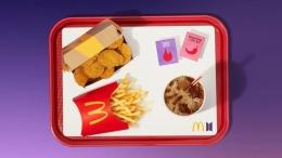 paket makanan BTS Meal dari McDonald's (USA Today)