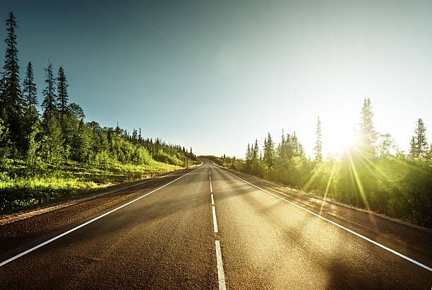 Ilustrasi hidup adalah sebuah perjalanan (istockphoto.com)