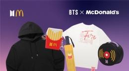 Kolaborasi McDonald's dan BTS yang meluncurkan BTS Meal menimbulkan kehebohan di kalangan penggemar K-Pop (gambar: rollingstones.com)