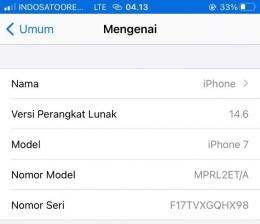 iOS 14.6 Sumber : screen shoot hape pribadi