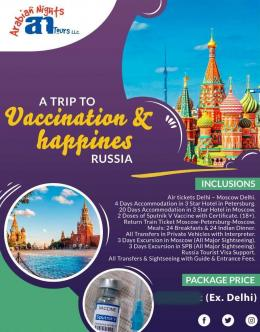 Contoh brosure wisata vaksin di India. Sumber: www.news18.com