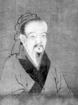 Potret Qu Yuan yang dipajang di Museum Nasional Istana, Taiwan   Foto diambil dari Britannica