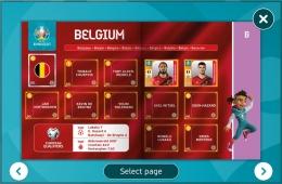 Stiker Panini Virtual Edisi Euro 2020/tangkap layar pribadi dari laman eufa,com