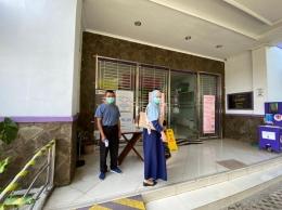 Penerapan Protokol Kesehatan di Rumah Sakit Hewan Provinsi Jawa Barat. Sumber: dokumentasi pribadi.