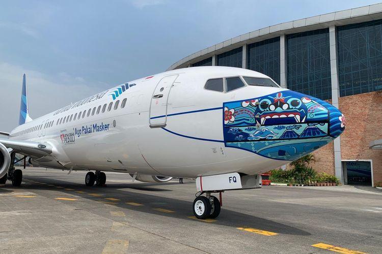 Ilustrasi salah satu armada pesawat Garuda Indonesia. Sumber Foto: Dok. Garuda Indonesia via Kompas.com