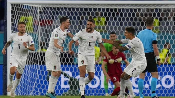 Italia vs Turki di Euro 2020 (sport.detik.com)
