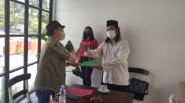 Ketua Umum Andy Tirta Serah-terima SK Ketua DPC Jakarta Utara, M. Ilham Kurniawan. / dokpri