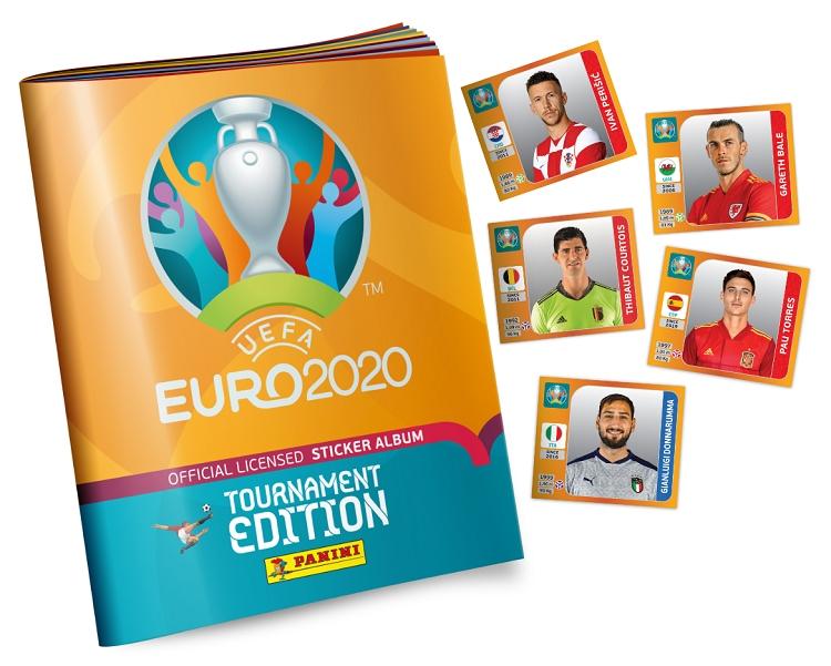 Ilustrasi Stiker Panini Euro 2020. Sumber: UEFA.com