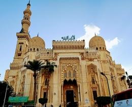 Ilustrasi Masjid Abu al-Abbas al- Musri. Dokpri