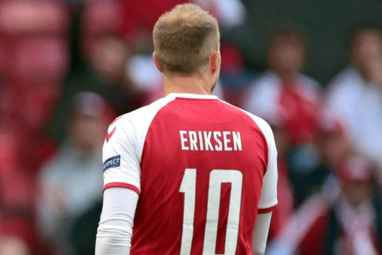 Eriksen Ketika Membela Timnas Demark. (dok:Getty Images)