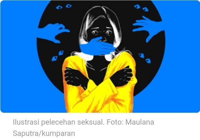 Ilustrasi pelecehan seksual. Foto: Maulana Saputra/kumparan