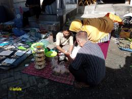 Pedagang Katupat Kandangan   @kaekaha