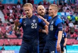 Joel Pohjanpalo dan Jere Uronen (Finlandia) . Sumber : UEFA Euro 2020 .