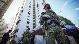 Pemerintah Malaysia melakukan lockdown nasional total mulai 1 Juni 2021 hingga 14 Juni 2021, sumber foto : www.cnbcindonesia.com, 29/5/2021