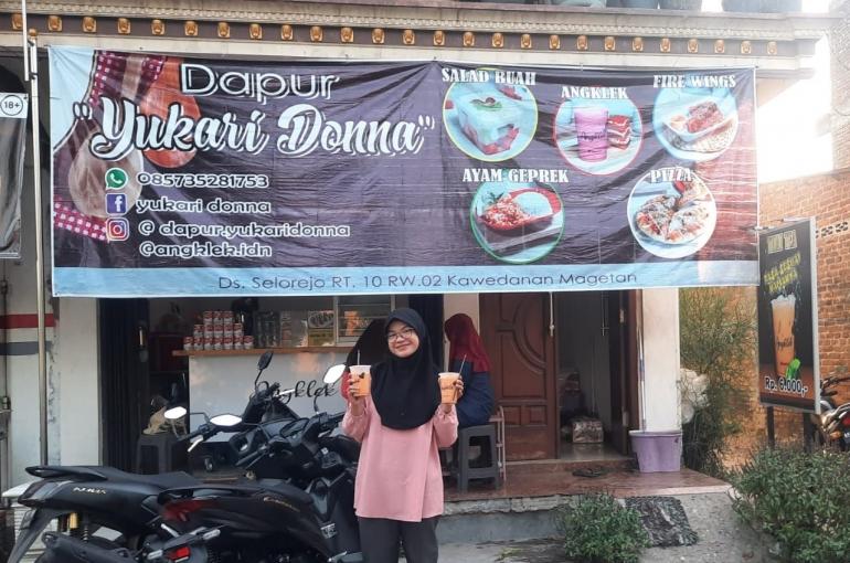 gerai pusat dapur yukari donna @dokpri