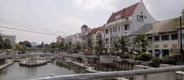 Deskripsi : kawasan Kota Tua yang sedang dipercantik I Sumber Foto : dokpri