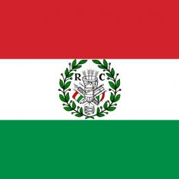 Bendera Republik Cispadane. (Dok.