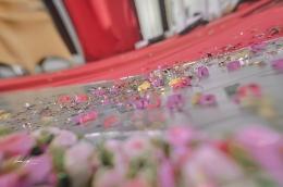 Delicate details pada sebuah acara resepsi pernikahan. (Sumber: Dokumentasi pribadi/Foto oleh Kazena Krista)