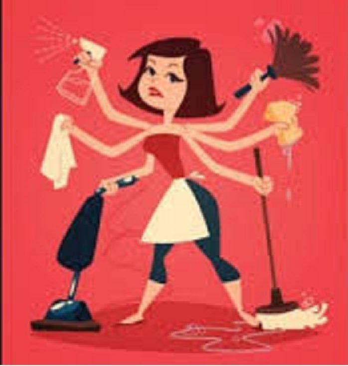 Kerja rumah tangga, nampaknya gampang namun menantang (topgambarumah.blogspot)
