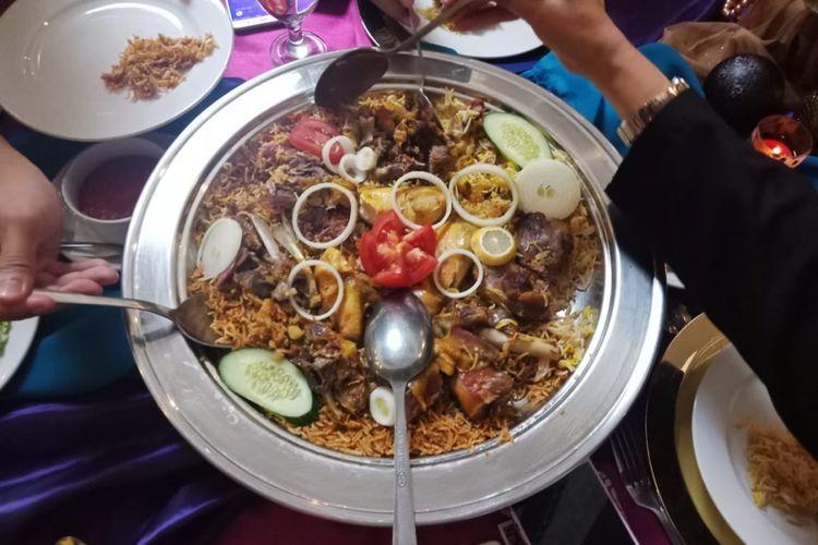 Resep Nasi Ayam Briyani Asli India (Kompas.com/M. Irzal Ardikurnia)