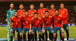 Skuad Spanyol berjuluk La Roja. Sumber: www.chaseyoursport.com