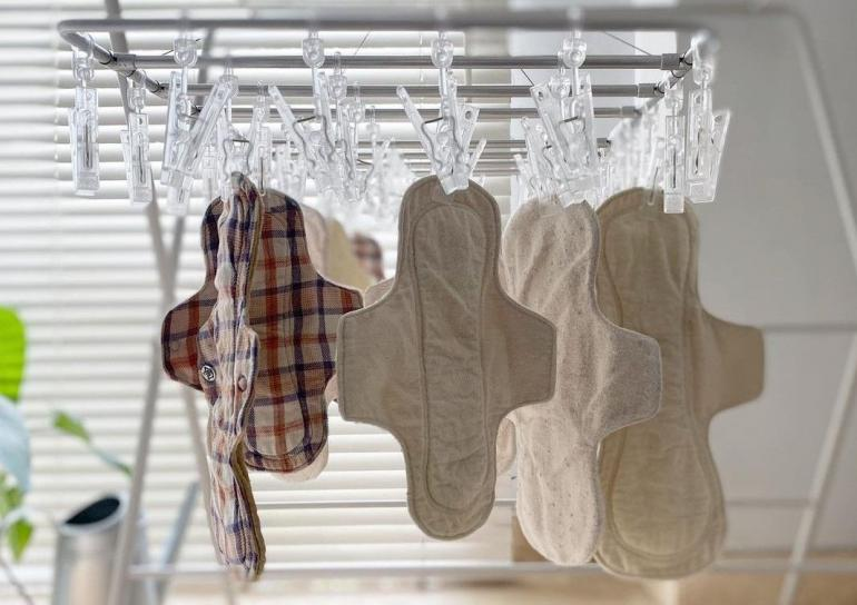 Menspad, pembalut kain pakai ulang (Sumber: Instagram @odetoless)