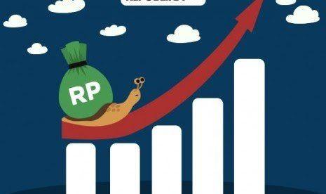 Ilustrasi pertumbuhan ekonomi (Republika.co.id)