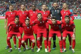Tim Portugal dijuluki Selecao. Sumber: www.eurocupsoccer.com