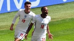 Raheem Sterling pencetak gol tunggal ke gawang Kroasia untuk meraih kemenangan perdana Inggris (Foto REUTERS/Justin Tallis)
