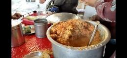 Nasi ayam briyani asli India (Youtube Indian Food Vlogs)