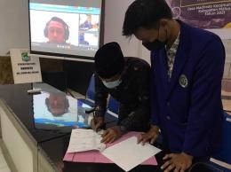 Peresmian Program Kerja KKN Madiredo 2021-dokpri
