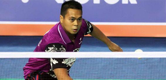 Pahlawan bulutangkis Indonesia, Markis Kido meninggal dunia ketika bermain bulutangkis di Tangerang, tadi malam/Foto: badmintonindonesia.org