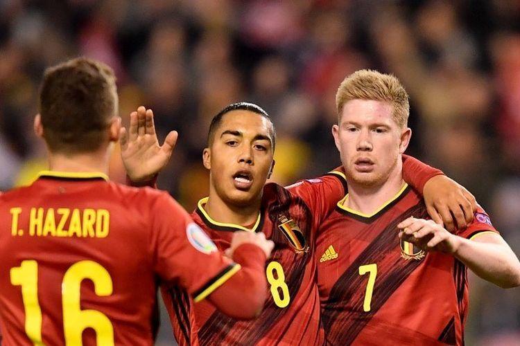 Mewahnya Lini Tengah Belgia Patut Diwaspadai Tim Manapun yang Berjumpa - Sumber : bola.kompas.com
