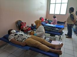 Deskripsi : RSKO Jakarta Melaksanakan Donor Darah I Sumber Foto : rsko jakarta