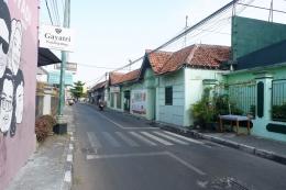 Jalanan di Kotagede yang tampak sepi di suatu pagi. - Dokumentasi Pribadi