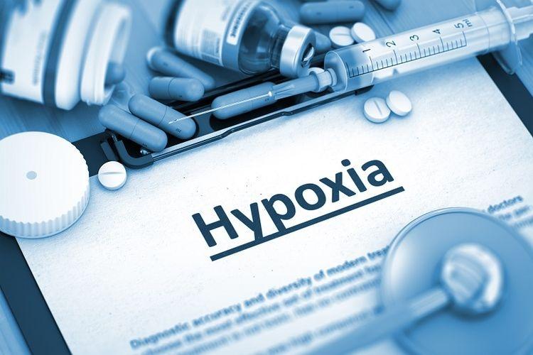 Ilustrasi kondisi happy hypoxia (Sumber. Shutterstock/Tashatuvango via Kompas.com)