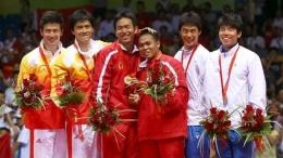 Kenangan bersejarah Hendra/Kido mengantongi medali emas Olimpiade Beijing 2008 (indosport.com)