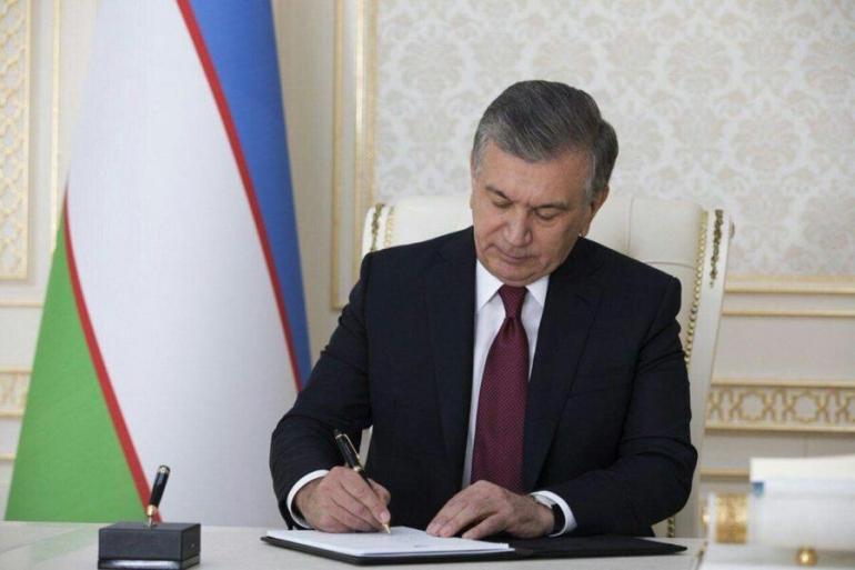 The Ratification by President of Uzbekistan Shavkat Mirziyoyev