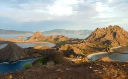 Pulau Padar (Dokumentasi pribadi)