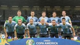 Skuad Uruguay di Copa America 2021 (sumber : tribunnews.com)