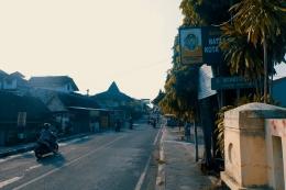 Tanda batas wilayah Kotagede yang masuk Kota Jogja dan wilayah Kotagede yang masuk wilayah Kabupaten Bantul. - Dokumentasi Pribadi