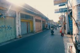 Tidak ada pedestrian yang layak menjadi salah satu masalah di Kotagede. - Dokumentasi Pribadi