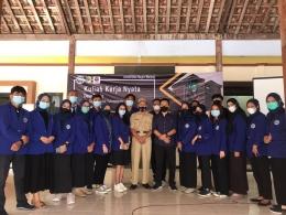 Pembukaan KKN UM Desa Bendo Tulungagung 2021 / dokpri